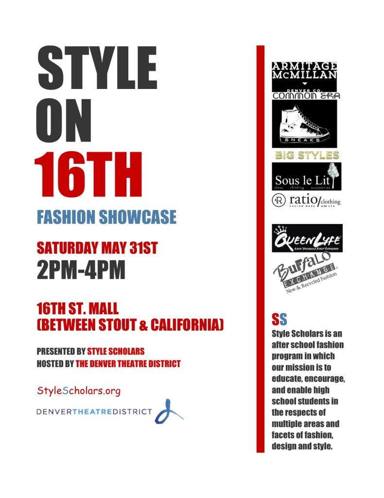 Style On 16th Fashion Showcase May 31st 303live