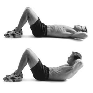 crunches abs