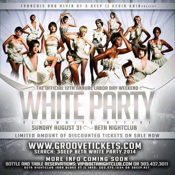 12th All White Party