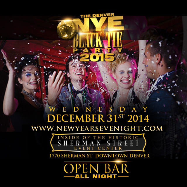 New Years Eve Black Tie Party